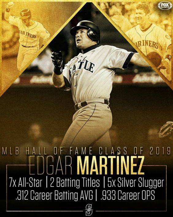 Edgar Martinez Slugger Seattle Mariners All Star