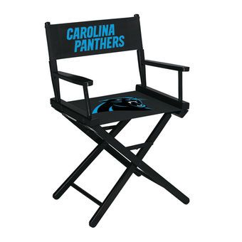 Carolina Panthers Table-Height Directors Chair