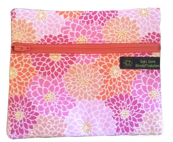 Cosmetic Bag 6 1/2 x 5 1/2