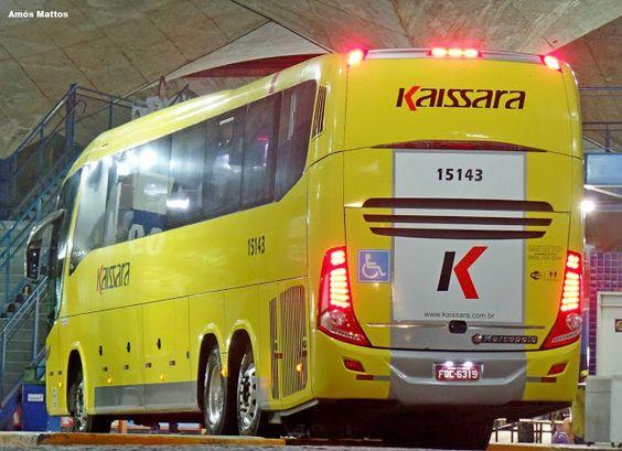 Fortalbus.com - O dia a dia do nosso transporte: Viação Kaissara em operação na Rodoviária de Fortaleza