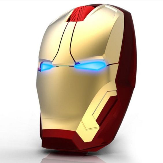 Iron Man Mouse Wireless Mouse Gaming Mouse Gamer  (Disclaimer: This is an affiliate link) :D