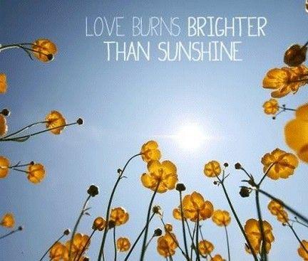 Love Burns Brighter