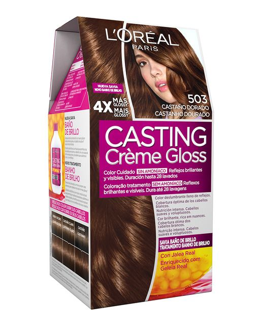 Coloración Casting Crème Gloss L Oréal Paris Teñido Del Cabello Tutoriales De Belleza Cabello Cafe