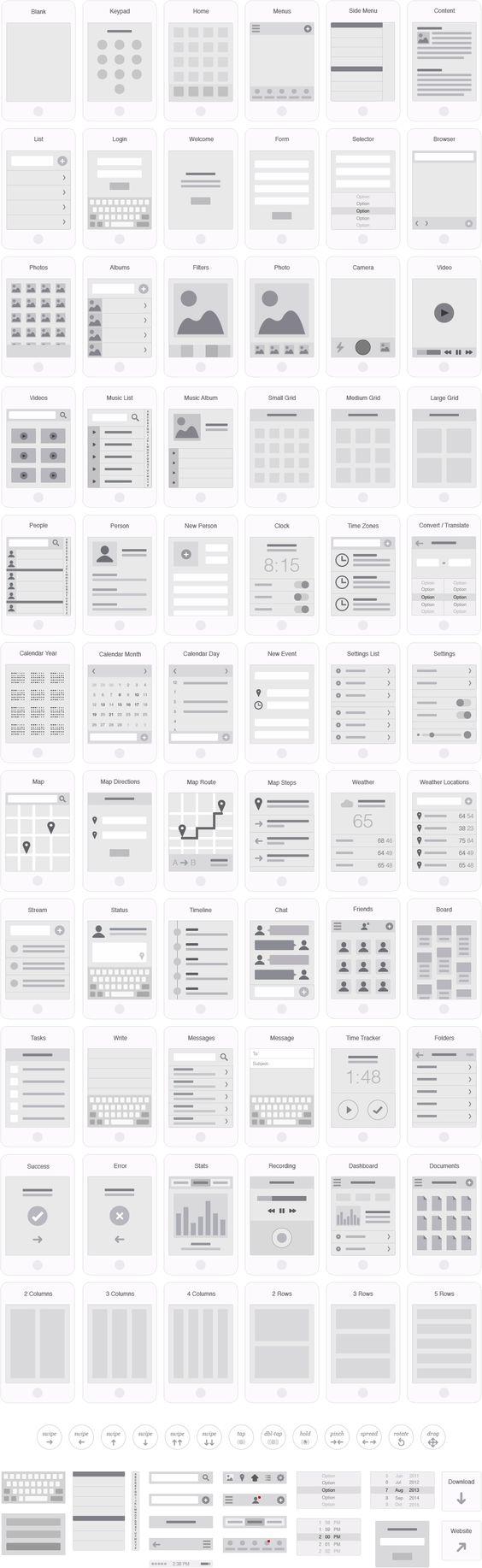 Mobile app visual flowchart illustrator template ux kits ux mobile app visual flowchart illustrator template ux kits ux webdesign uxui pinterest flowchart mobile app and illustrators nvjuhfo Image collections