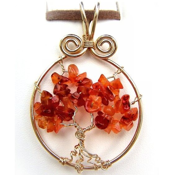 Wire Wrap Jewelry Lesson Tree of Life Pendant | Jewelry patterns ...