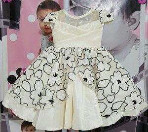 Vestido Infantil Princess - tam 1 ao 4