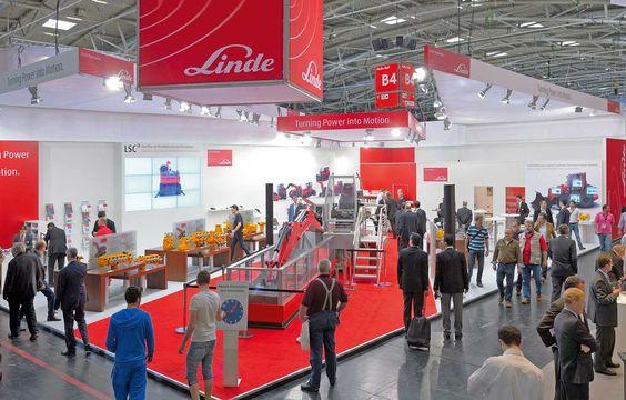 Linde / #Bauma / München Interesse an einem Messetand? Kontaktieren Sie uns: http://www.wum.de/aschaffenburg/  #Messebau #wumdesign #wum #Messestand