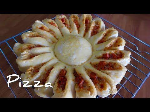 Cara Membuat Pizza Bunga Matahari Sunflower Pizza Youtube Bunga Pizza Mata Hari