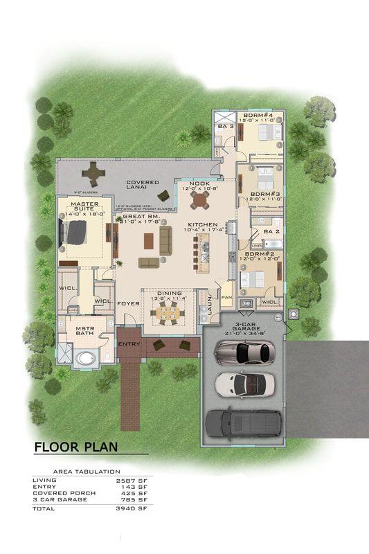 2d Architectural Color Floor Plan Service Utah Floor Plans