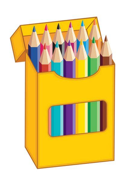 Crayons stylos page 2 movil pinterest clipart for Caja de colores jardin infantil