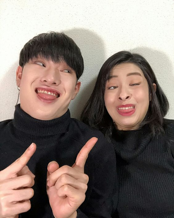 Bem conceituais kkkkkkk taichi e Ayumi ❤/Couple asian