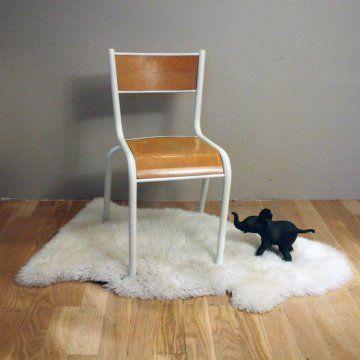 Rénover une chaise d'écolier - Marie Claire Idées