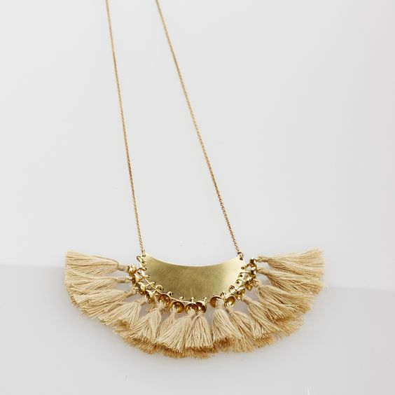 Lido World - Fringe Necklace, $75.00 (http://www.lidoworld.com/fringe-necklace/)
