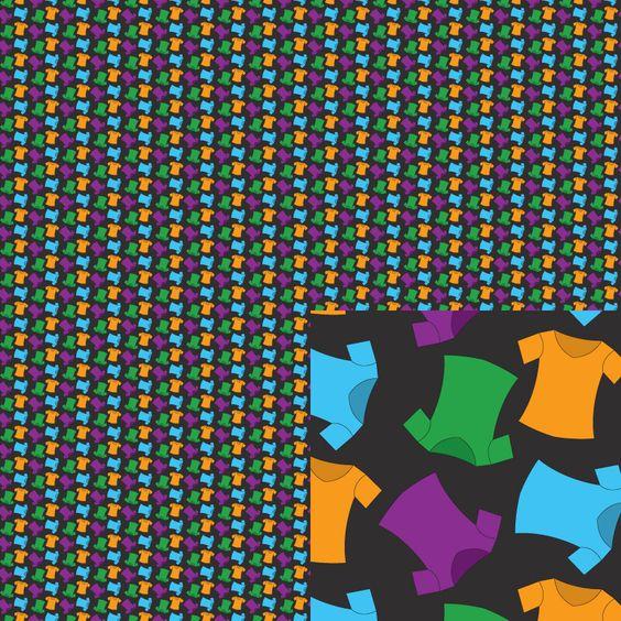 #tshirts This is part of my January 2015 series #Tiny Repeats. #EmpireRuhl #pattern #teeshirt