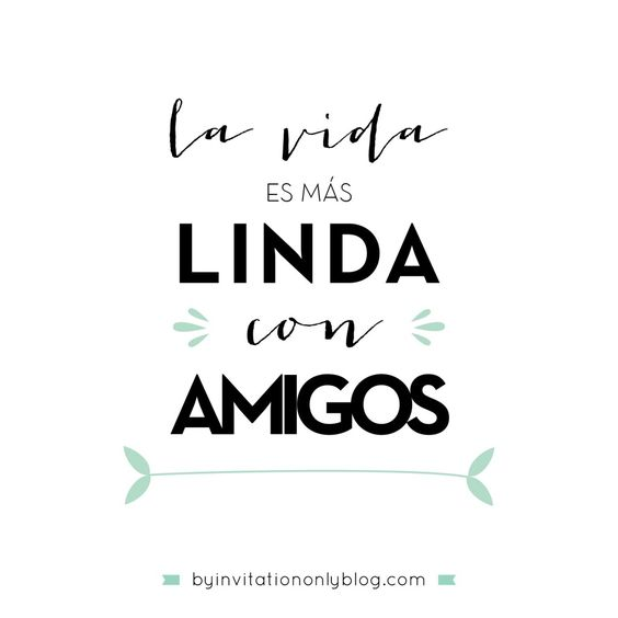 By Invitation Only | {inspirational Monday} Ideas para celebrar el Dia del Amigo | http://byinvitationonlyblog.com