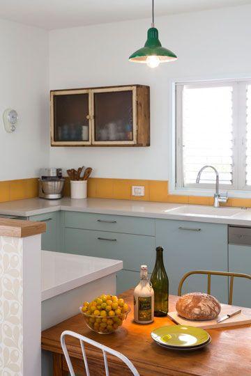 טעמה של בעלת הבית הכתיב את הסגנון העיצובי ואת סקלת הצבעים ( צילום: שי אפשטיין )