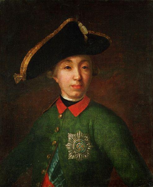Tsar Peter III esposo de Catalina la Grande de Rusia