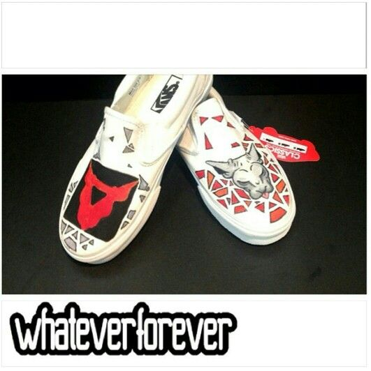 My hand paint shoes