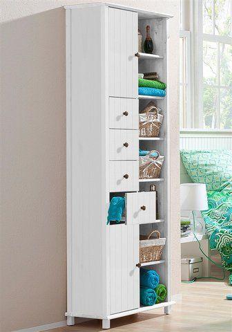 Welltime Hochschrank »Vili«, Breite 60 cm, 2 Türen, 4 Schubkästen im Online Shop von Baur Versand