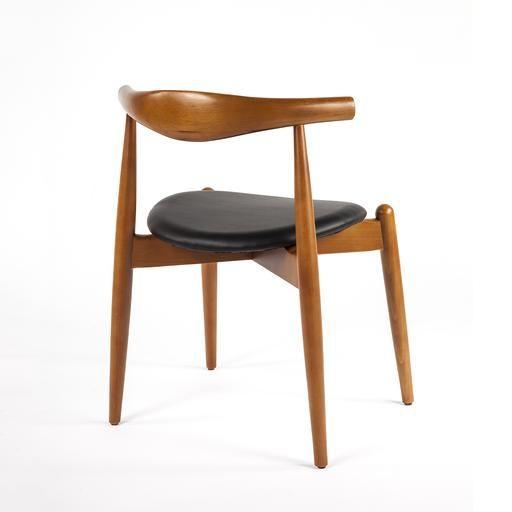 Strange Mid Century Elbow Chair Black Seat Cb Ues Living Room In Creativecarmelina Interior Chair Design Creativecarmelinacom
