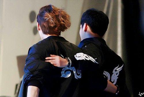Infinite H dongwoo and Hoya Yadong