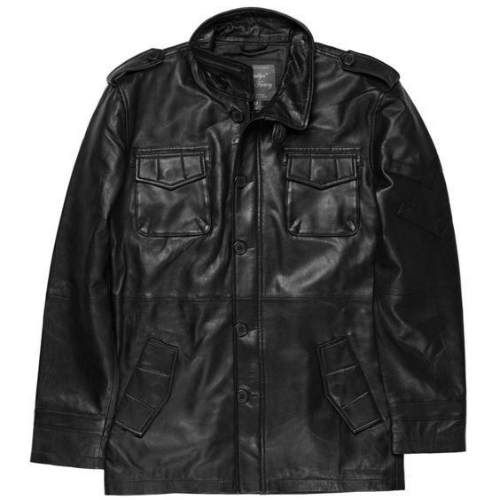 La parka en cuir Trenton noir est légère et possède un col montant, qui est une veste parfaite pour les saisons tournant autour de 0 a 20° !  http://www.brooklynbridgefactory.com/blouson-cuir-homme/67-blouson-cuir-trenton.html