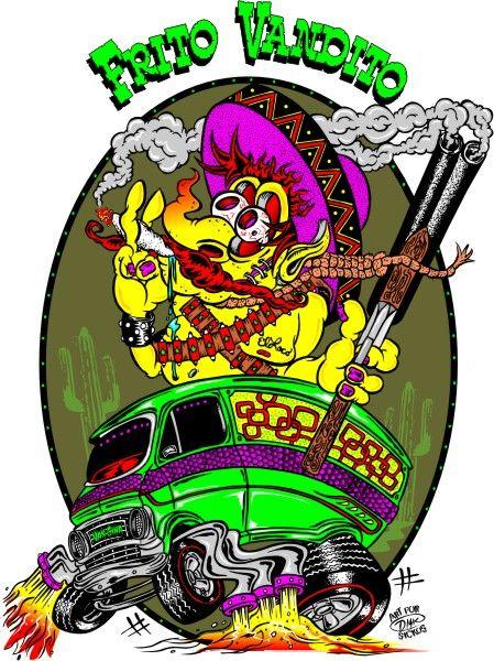   Hot Rod Art   Rockabilly Art   Poster Art   Car Toons ...