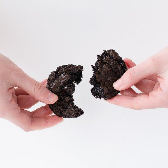 Flourless Chocolate Cake Cookies {vegan}