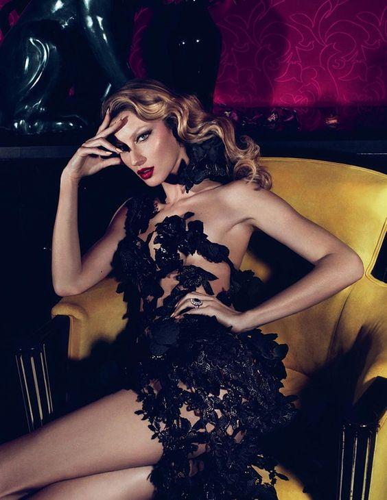 noirfacade: Gisele Bündchen by Mert Alas & Marcus Piggott for Vogue Türkiye March 2011