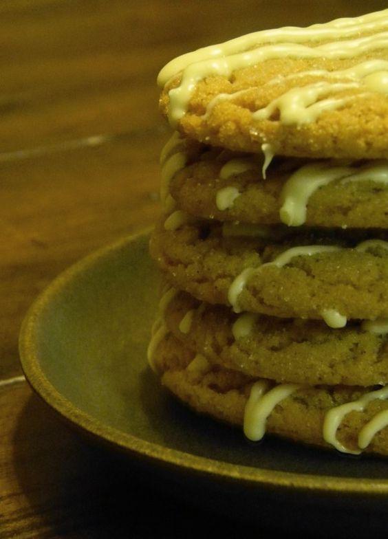 Ginger molasses cookies. Best cookies ever.