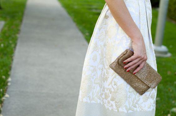 Cream & Gold Dress - Dallas Wardrobe | Fashion Blog | Style ConsultantDallas Wardrobe // Fashion & Lifestyle Blog // Dallas