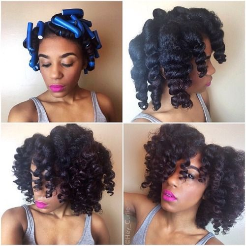 how to get heatless curls with short hair