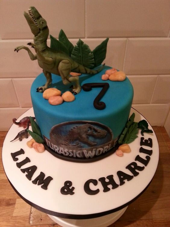 Jurassic world cake cake ideas Pinterest Jurassic ...