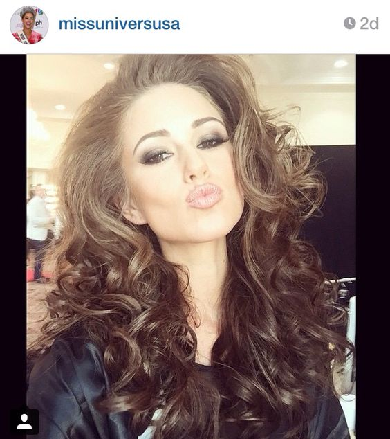 Nia Sanchez our Miss USA at the Miss Universe pageant in Miami.