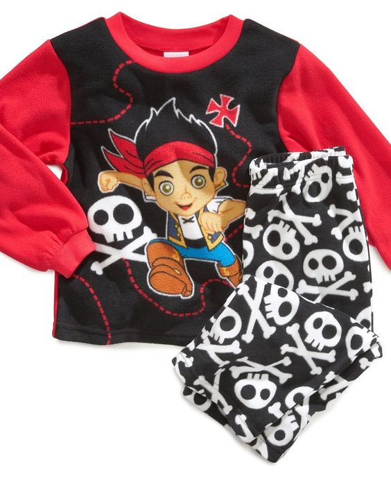Ame Toddler Boys' 2-Piece Fleece Jake and the Never Land Pirates ...
