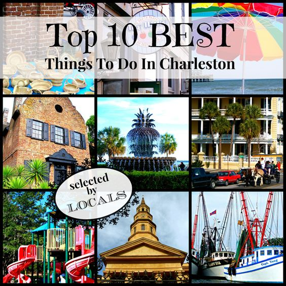 Find favorite picks from Charleston, SC locals here. With this list, your search for things to do in Charleston top 10 best is a breeze.