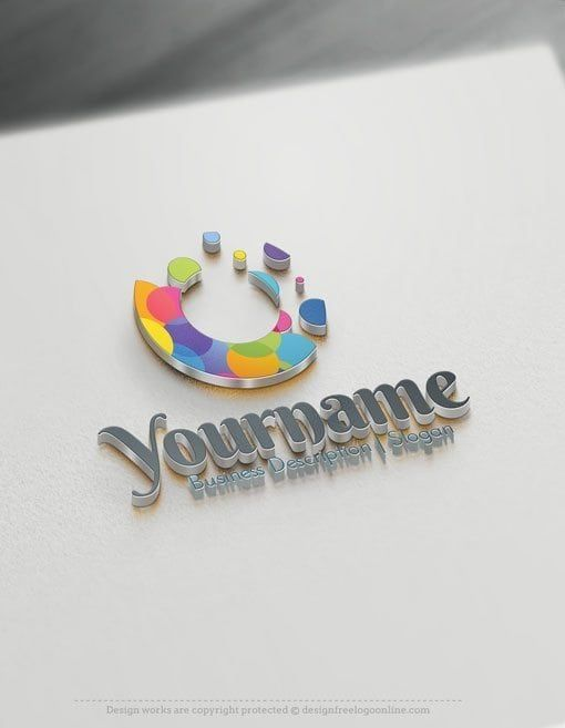 Design Free Art Logos Splash Watercolor Logo Template Logo