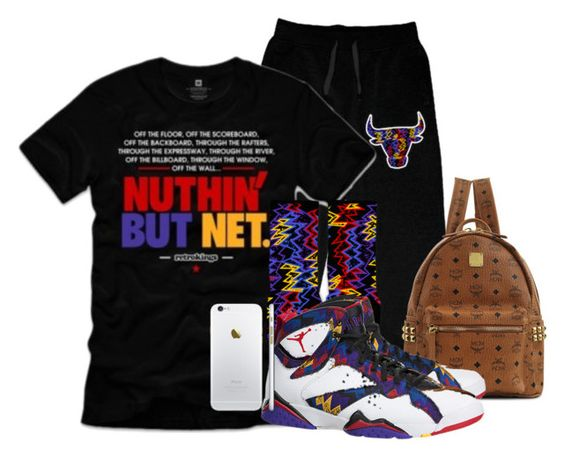 """Deonte"" by og-kinghenry15 ❤ liked on Polyvore featuring MCM"