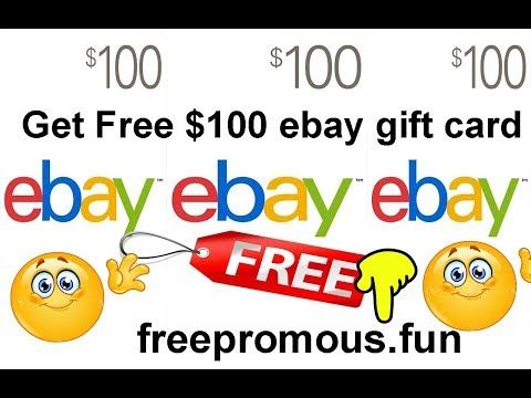 All New Offers Collection Get 100 Ebay Gift Card Free 2019 Ebay Gift Best Gift Cards Gift Card