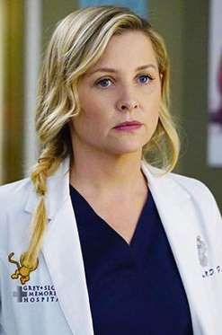 ARIZONA ROBBINS (JESSICA CAPSHAW)Les fans de «Grey's Anatomy» ne s'en sont toujours pas remis. Le docteur Mamour interprété par Patri... - ABC