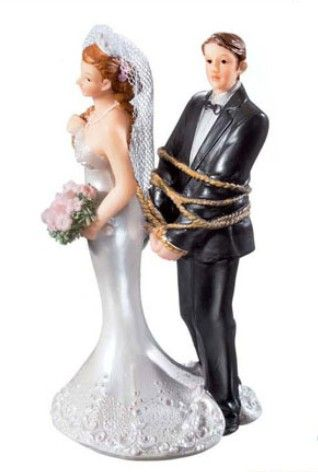 dirty wedding cake toppers the world s catalog of ideas 13537