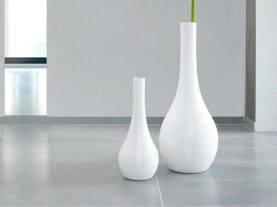 XL Vase Bodenvase groß ASA-Selection Weiß