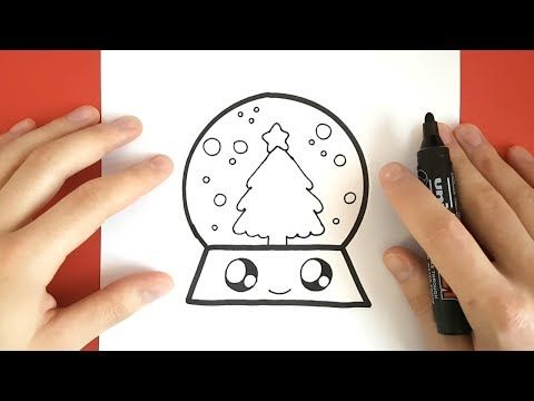 Cute Food How To Draw A Cute Banana Easy Drawing Youtube Easy Christmas Drawings Easy Drawings Christmas Drawing