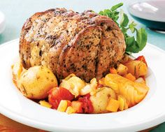 Pork Loin with Fennel and Potatoes | food | Pinterest | Pork Loin ...