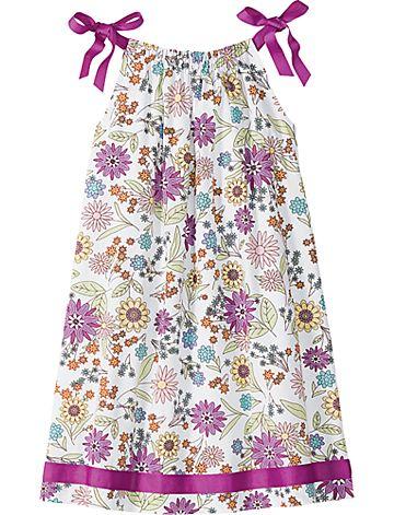 Good to remember when I make pillowcase dresses... I love the ribbon detail.  Thanks, @Julie Hudson for the tip!: