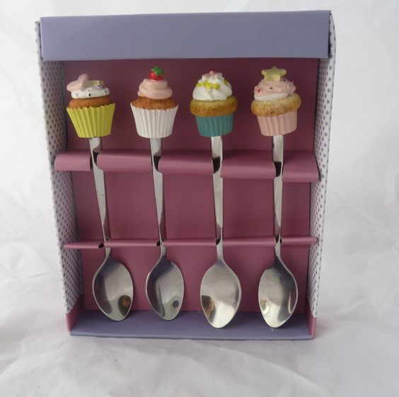Cupcake Spoons How Cute!
