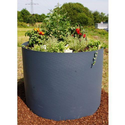 Rundes Hochbeet Aus Kunststoff Einfaches Aufstellen Individuell Bepflanzbar Hochbeet Beete Garten