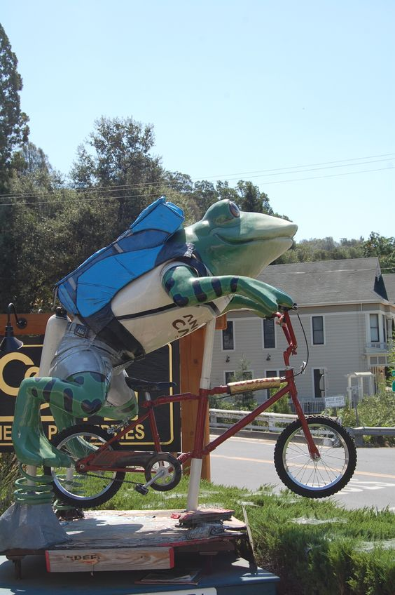 Angels Camp, Ca, USA, home of the jumping frog