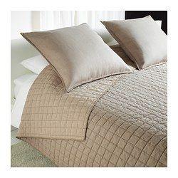 STRANDVETE Couvre-lit et 2 housses coussin - Grand deux places/TG deux places - IKEA