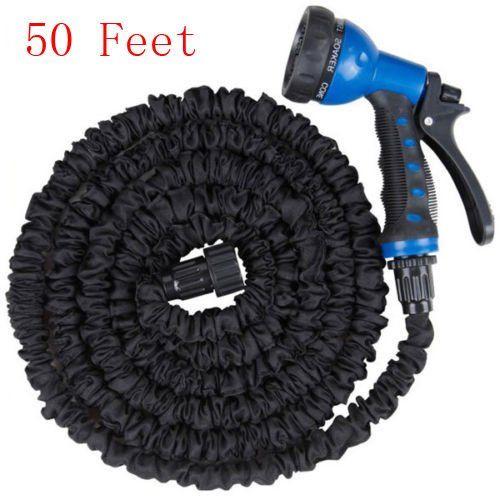 Fch 50ft Expandable Flexible Garden Water Hose Nozzle W 8 Functions Spray Nozzle Water Hose Water Garden Gardening Gloves